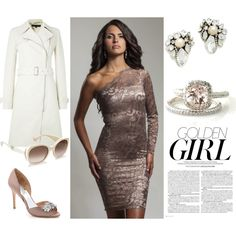 Want a sophisticated, elegant look for the next wedding you're attending this season? Find it in this beautiful Mocha Lace Cocktail Dress by Perlae Couture. Add some glamorous accessories with crystals and hints of other neutral shades, slip into a pair of pumps to match and then finish off your look with a fabulous pair of sunglasses to compliment this gorgeous dress. Shop the website at http://www.perlaecouture.com! #weddingoutfit #lacedress #whattoweartoawedding #weddingstyle
