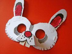 Rabbit Mask for Children :)))))