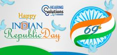 Patriotism is religion and religion is love for India. Wish you all happy republic day 2018 on behalf of Hearingsol.