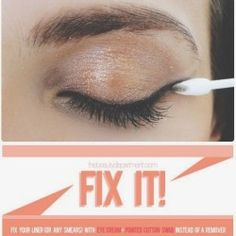 How to Correct Makeup Mistakes