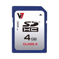 V7 Tarjeta #SDHC 4GB Clase 4; Las tarjetas SDHC de V7 son el modo perfecto de ampliar el espacio de almacenamiento de memoria en la última generación de teléfonos móviles y otros dispositivos móviles para música, vídeo, fotografías, juegos y aplicaciones de software.... En   http://www.opirata.com/tarjeta-sdhc-clase-p-20825.html