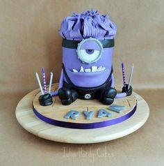 Evil Minion Cake - Cake by Julia Hardy