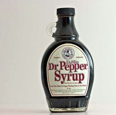 Dr. Pepper syrup