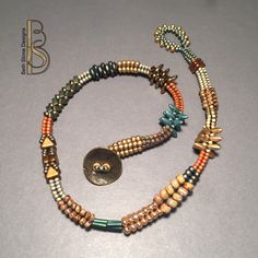 Beth Stone Designs. If you give a girl a bead. Double wrap bracelet