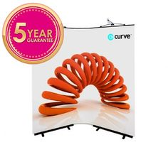 These  Curve Exhibition Display Stand ideal for small events and trade shows.