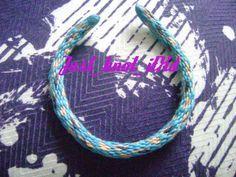 Kumihimo bracelet... Animal print!