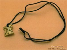 The necklace Anakin gives Padme I want this, that would be awesome!