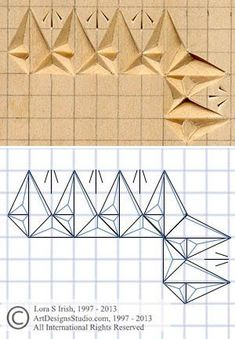 chip carving grid pattern #woodworkingideas
