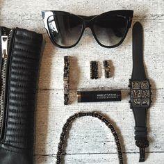 IceLink Black Bicycle Link Standard Bracelet - IceLink Watches & Jewelry