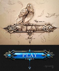 Play Game on Behance