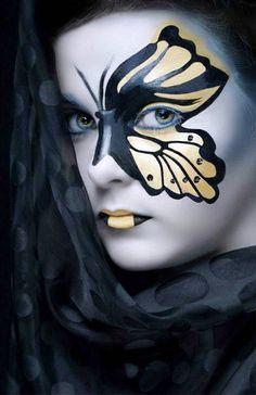 Butterfly Halloween Makeup Ideas