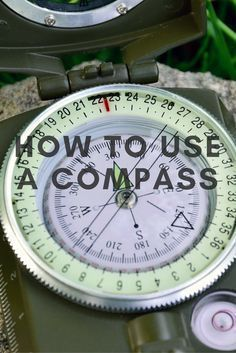 a31973fd7 The compass is a basic survival tool that all of us should learn how to use