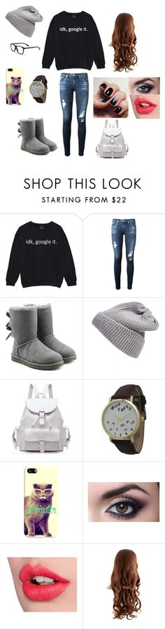 ""\Hipster//ish\"" by bethanykallio ❤ liked on Polyvore featuring AG Adriano Goldschmied, UGG Australia, Olivia Pratt, Casetify and Charlotte Tilbury236|899|?|a75fad32c6fad82dd14d6b533f448276|False|UNLIKELY|0.3282046914100647