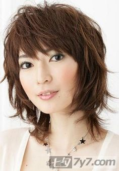 Love this shag, but is it dated?  Am I brave enough to chop my hair like this ?  I think I can always lop off the bottom layer to form a bob. Curly Shag Haircut, Medium Shag Haircuts, Shaggy Hair, Medium Choppy Layers, Curly Hair Cuts, Medium Hair Cuts, Hip Hair, Different Hair Cut, Cut And Color