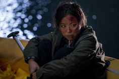 Michelle Ang stars as Alex from Flight 462 in Episode 3 of AMCs Fear The Walking Dead Season 2