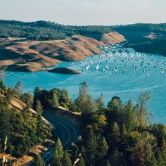 """Day 797 [8-25-15] """"Squeeze"""" - The Bidwell Marina is losing space for boats.  Lake Oroville, CA is 225 feet (or 69%) below full capacity (weekly series: """"Drought"""" 