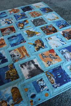 I'm obsessed with vintage SW bed sheets. I even made a baby quilt out of them.