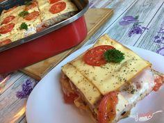 Zapekané pizza tousty s jednoduchou a rýchlou prípravou | NajRecept.sk Pizza, Naan, Lasagna, French Toast, Brunch, Food And Drink, Menu, Pudding, Snacks