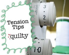 Sewing Machine Tension Tips