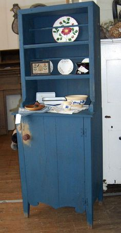 old primitives country cupboard