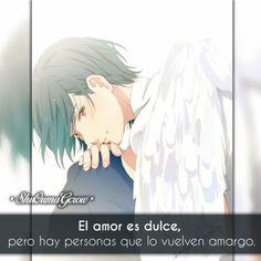 IG: #Shuoumagcrow anime Frases anime sentimientos Shoujo amor ShuOumaGcrow frases Chibi Tokyo Ghoul, Anime Triste, Anime Chibi, Sad, Kaneki, Manga, Feelings, Words, Cute