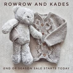 "Knitwear for Babies & Toddlers (@rowrowandkades) on Instagram: ""Sale starts today on selected end of season lines. A whopping 50% off! There isn't much left so you…""  #knitting #babyknits #baby #babyclothes #babysale #etsysale #knitwear #babyshower #christening #gifts"