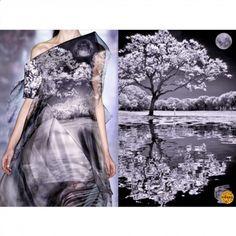 Blog  PHOTO & L' ART  • Mary Katrantzou F/W 2013/14 RTW • & • Photo by lrargerich (Luis Argerich) • ________________________ #LiliyaHudyakova #fashion #art #MaryKatrantzou #nature #landscape #inspiration