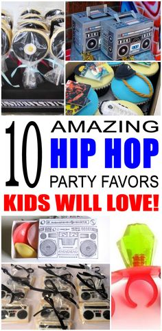 Fun hip hop party favor ideas that kids and teens will love. Try these simple diy hip hop party favors for boys and girls. Here are some easy gift bags, treat bags, and more birthday ideas to say thank you to the friends of that special birthday child. Birthday Gifts For Teens, Birthday Gifts For Best Friend, Teen Birthday, Best Friend Gifts, Birthday Ideas, Special Birthday, Birthday Bash, Birthday Crafts, Boy Party Favors