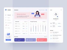 Dashboard UI Design Inspiration: A Roundup by Afterglow, Outcrowd and Web And App Design, Ios App Design, Mobile App Design, Design Websites, Web Design Trends, Design Android, Web Design Quotes, Flat Design, Kpi Dashboard