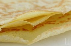 "low carb crepes - per the recipe ""use them for enchiladas, burritos, lasagna, sandwiches, or just roll up with a sprinkle of Cinnamon-Splenda inside."""