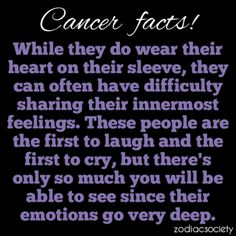 I don't believe in astrology, but this is definitely true for me! :)