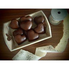 Plnené čokoládové perníčky