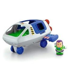 Fisher Price Little People Buzz Lightyear and Spaceship