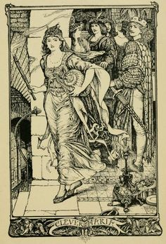 Clever Maria - The Crimson Fairy Book by Andrew Lang, 1903  @Gail Regan Truax://openlibrary.org/books/OL13441360M/The_crimson_fairy_book