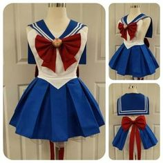 Sailor Moon Costume, Sailor Moon Outfit, Sailor Moon Cosplay, Diy Costumes, Cosplay Costumes, Dress Up Aprons, Aprons Vintage, Halloween Disfraces, Cosplay Outfits