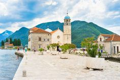 Our Lady on the Rock in Perast Montenegro