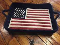 Acorn Home announces the start of their private label collection beginning with this exclusive American flag tray! It will be the hit of any barbecue, 4th of July or any outdoor party!! Reserve yours now!! Preorders being taken: $130. (with removable acrylic insert) #madeintheusa #indooroutdoor #faderesistant #washable #braided #shoplocal #andover  #gifts #housewarminggift #hostessgift #weddinggift #americana #fourthofjuly #memorialday #barbecue #party…
