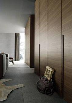 Lacquered oak wardrobe MADISON By Poliform design Carlo Colombo Oak Wardrobe, Simple Wardrobe, Bedroom Wardrobe, Wardrobe Closet, Built In Wardrobe, Closet Doors, Hallway Closet, Modern Closet, Modern Wardrobe