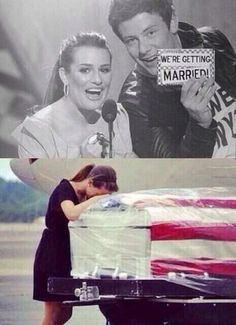 Poor Lea, she must be devastated about Cory, may we gleeks all mourn with you Lea