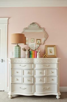 6th Street Design School | Kirsten Krason Interiors : Pink and Gold Nursery Reveal