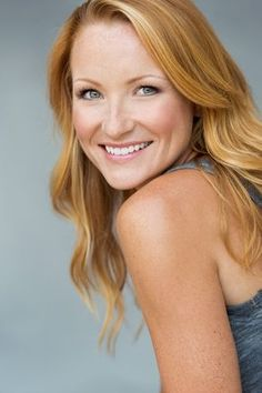 Commercial natural light actress headshot photographed on location ...