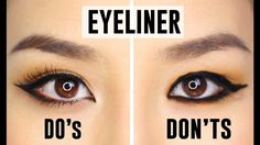 How to Apply Eyeliner Perfectly Based On Your Eye Shape. How to Apply Eyeliner Perfectly Based On Your Eye Shape list here: Almond-shaped eyes Hooded e. Eyeliner For Hooded Eyes, Perfect Winged Eyeliner, Hooded Eye Makeup, Cat Eye Makeup, How To Apply Eyeliner, Eye Makeup Tips, Applying Eyeliner, Applying Makeup, Loreal Eyeliner