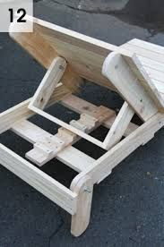 Diy Wood Chaise Lounge Chairs Lounge Chair Plans Free
