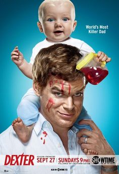 Dexter TV Series - Characters   Best TV Shows Inspired by Books – Part 1