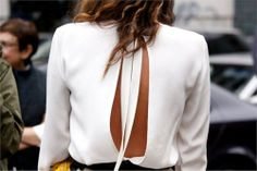 Open Back Blouse / Stella McCartney