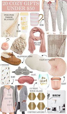 20 Cozy Gift Ideas Under $50 - LivvyLand