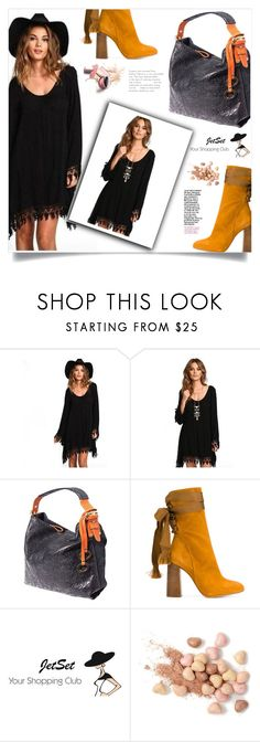 """""""JetSet Shop!"""" by samra-bv on Polyvore featuring Chloé, Carbotti, Too Faced Cosmetics, vintage, Fall, chic, bag and autumn"""