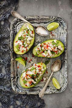 Vaaleasta kalasta valmistettu ceviche on yksi maailman raikkaimmista ja maukkaimmista alkuruuista.