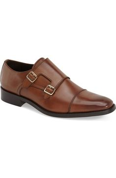 'Brooklyn' Leather Double Monk Strap Shoe (Men) by To Boot New York on Me Too Shoes, Men's Shoes, Shoe Boots, Dress Shoes, Mens Shoes Sale, Double Monk Strap Shoes, To Boot New York, Rubber Shoes, Fashion Boots