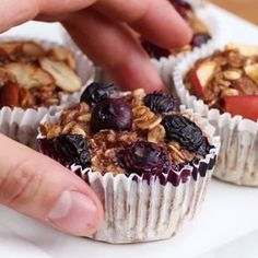 This recipe is great but has eggs. Trying to find a vega… Banana Oatmeal Muffins. This recipe is great, but has eggs. I try to find a vegan substitute. Baby Food Recipes, Baking Recipes, Cake Recipes, Dessert Recipes, Banana Oatmeal Muffins, Baked Oatmeal Cups, Oatmeal Snack Recipe, Oatmeal Cupcakes, Oatmeal Recipes